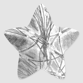 Branches of the fallen life star sticker