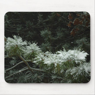 Branches of winter mousepad