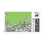 Branches on Green Postage