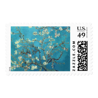 Branches with Almond Blossom by Van Gogh Stamps