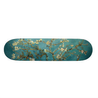 Branches with Almond Blossom by Vincent Van Gogh Skateboard