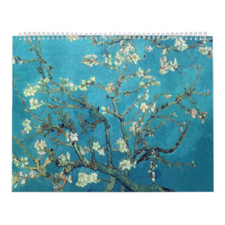Branches with Almond Blossom  - Van Gogh Calendar