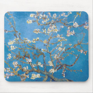 Branches with Almond Blossom Van Gogh Mouse Pad