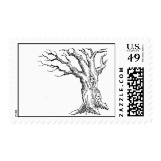 Branching Out Tree Stamps