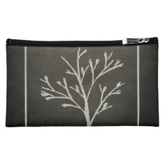 Branching Tree Sapling Chalk Drawing Cosmetic Bag