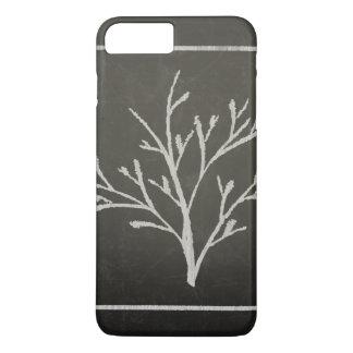 Branching Tree Sapling Chalk Drawing iPhone 8 Plus/7 Plus Case