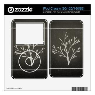 Branching Tree Sapling Chalk Drawing Skins For iPod