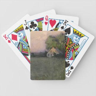 Branchville, Connecticut by Julian Alden Weir Playing Cards