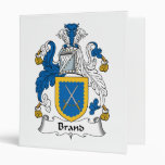 Brand Family Crest 3 Ring Binders