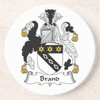 Brand Family Crest Coasters