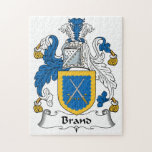 Brand Family Crest Jigsaw Puzzles
