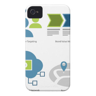 Brand management icon set iPhone 4 cover