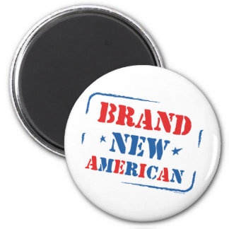 Brand New American 2 Inch Round Magnet