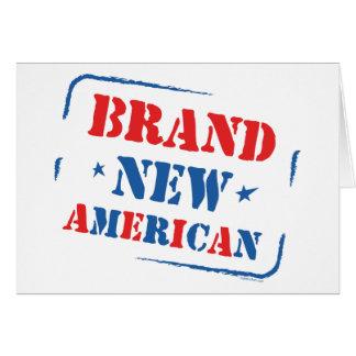Brand New American Card