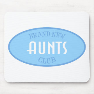 Brand New Aunts Club (Blue) Mouse Pad