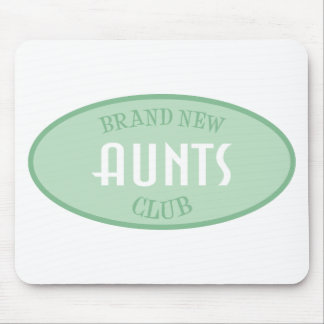 Brand New Aunts Club (Green) Mouse Pad
