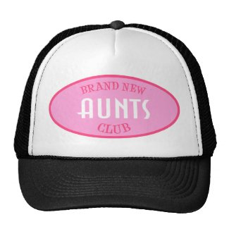 Brand New Aunts Club (Pink) hat