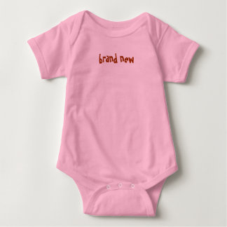 brand new baby bodysuit