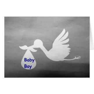 BRAND NEW BABY BOY--OH WHAT JOY! CARD