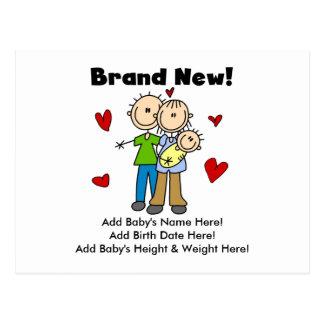 Brand New Baby Customizable Postcard