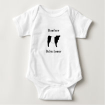 Brand New Beltie Farmer Baby Gift Belted Galloways Baby Bodysuit