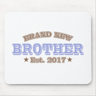 Brand New Brother Est. 2017 (Purple) Mouse Pad