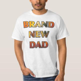 BRAND NEW DAD Sunflower Design T-Shirt