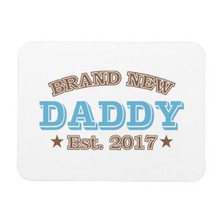 Brand New Daddy Est. 2017 (Blue) Magnet
