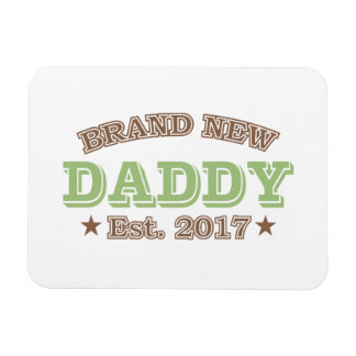 Brand New Daddy Est. 2017 (Green) Magnet