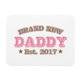 Brand New Daddy Est. 2017 (Pink) Magnet