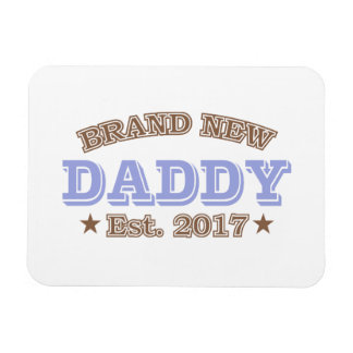Brand New Daddy Est. 2017 (Purple) Magnet