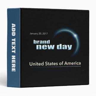 Brand New Day Vinyl Binder