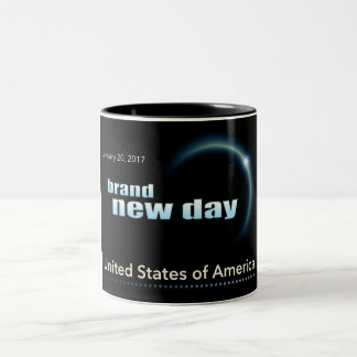 Brand New Day Two-Tone Coffee Mug