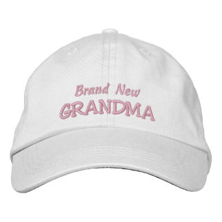 Brand New GRANDMA-Grandparent's Day OR Birthday Embroidered Baseball Hat
