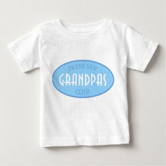 Brand New Grandpas Club (Blue) Baby T-Shirt