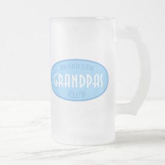 Brand New Grandpas Club (Blue) Mugs
