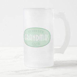 Brand New Grandpas Club (Green) Mugs