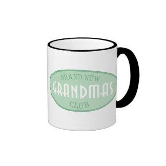 Brand New Grandpas Club (Green) Coffee Mugs