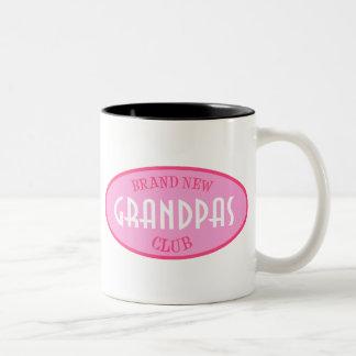 Brand New Grandpas Club (Pink) Coffee Mug