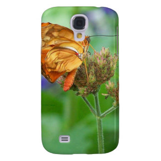 Brand new hatched butterfly baby, orange wings galaxy s4 case