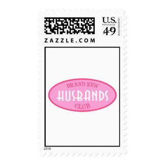 Brand New Husbands Club (Pink) Stamp