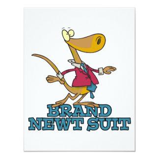 brand new newt suit lizard pun announcement