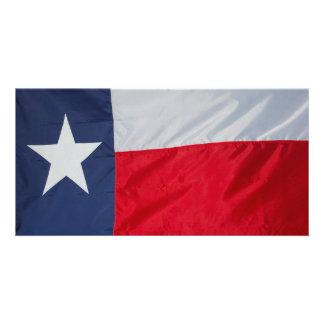 Brand New Texas Flag Photo Card