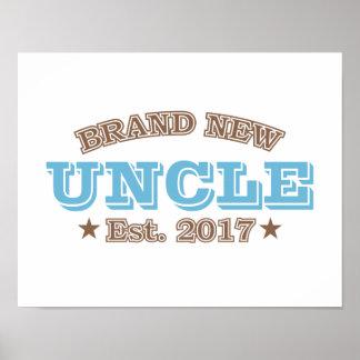 Brand New Uncle Est. 2017 (Blue) Poster