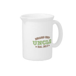 Brand New Uncle Est. 2017 (Green) Drink Pitcher