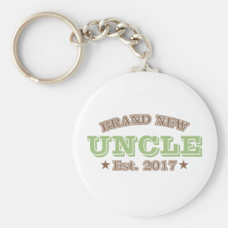 Brand New Uncle Est. 2017 (Green) Keychain