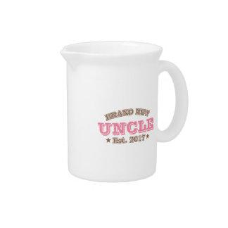 Brand New Uncle Est. 2017 (Pink) Beverage Pitcher