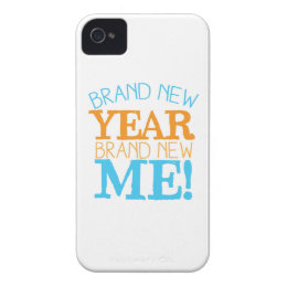 Brand new Year Brand new ME! iPhone 4 Cover