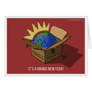 Brand New Year Card