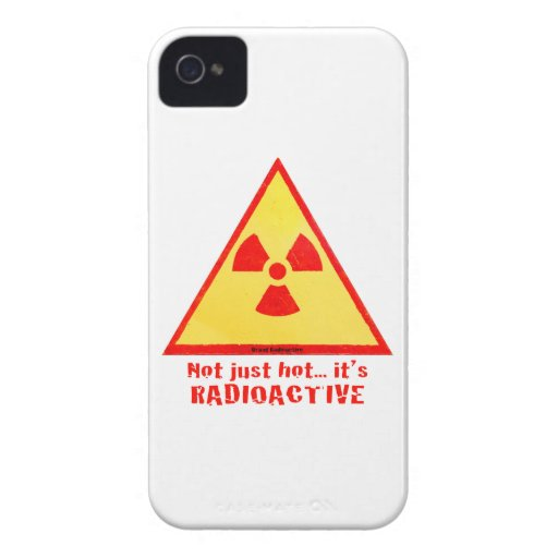 Brand Radioactive iPhone 4 Cases